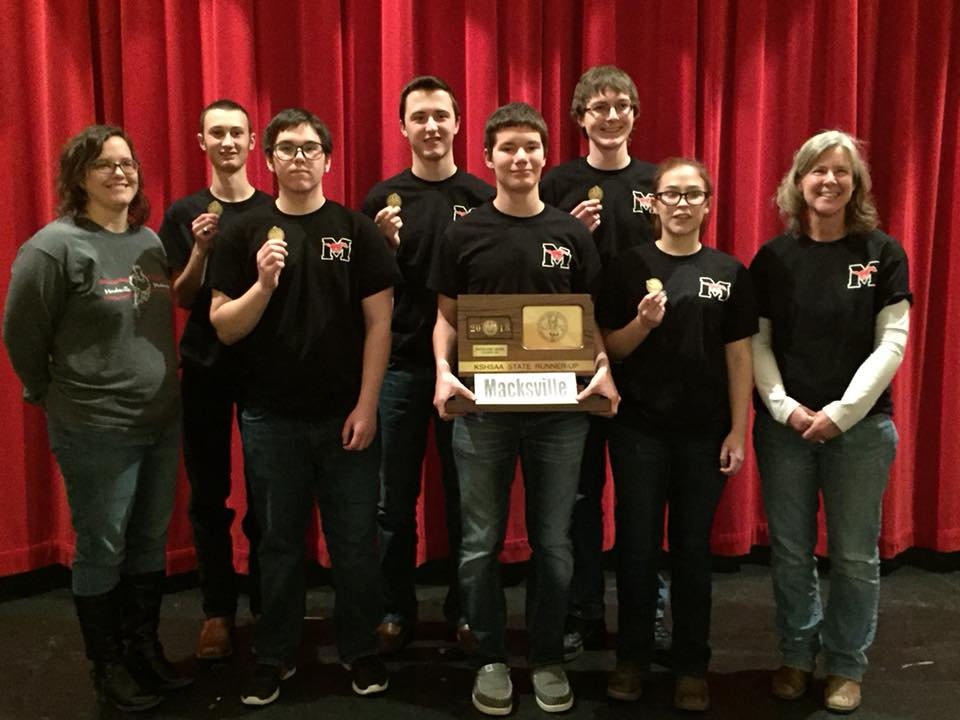 Scholars Bowl Kansas State Runner-Up